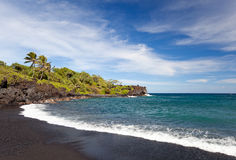 Hana maui coast Royalty Free Stock Photo