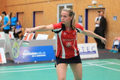 Hana Milisova - badminton Stock Photography