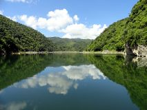 Hanabanilla sjö Arkivbilder