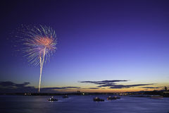 Hanabi -8 Royalty Free Stock Photography