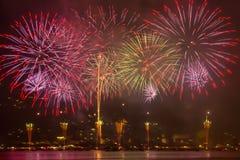 Hanabi fireworks Royalty Free Stock Photos