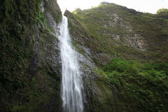 Hanakapi'ai Falls, Kauai Royalty Free Stock Images