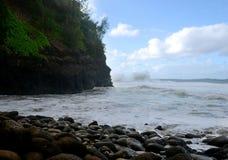 Hanakapi ` ai, Kauai Fotografia Stock