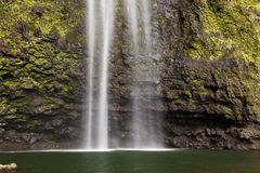 Hanakapi ` ai spadki Tęsk ujawnienie, Kauai Obraz Royalty Free
