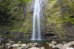 Hanakapi ` ai spadki Tęsk ujawnienie, Kauai Zdjęcia Royalty Free