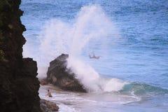 Hanakapi'ai-Strand lizenzfreie stockfotos