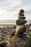 Hanakapiai plaża Zdjęcie Stock