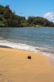 Hanalai Bay in Kauai, Hawaii Royalty Free Stock Image