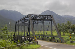 Hanalei桥梁 免版税库存图片