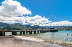 Hanalei Bay, Kauai Island - Hawaii Royalty Free Stock Photography