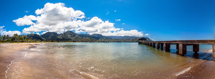 Hanalei Bay, Kauai Island - Hawaii Stock Images