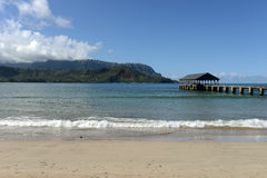 Hanalei Bay Stock Photography