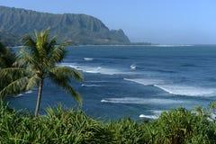 Hanalei-Bucht Stockbilder