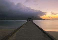 Hanalei Pier Stock Photography