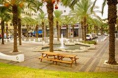 Hanamal Street, Haifa Royalty Free Stock Photo