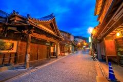 Hanamikoji Dori Kyoto fotografia de stock