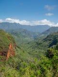 Hanapepe dal på ön av Kauai Royaltyfri Foto
