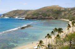 Hanauma Bay. Hawaii Stock Photos