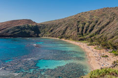 Hanauma bay Royalty Free Stock Photos