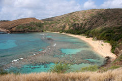 hanauma bay beach Fotografia Stock