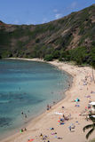 hanauma bay beach Obrazy Royalty Free
