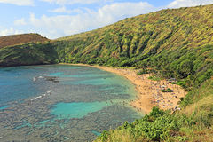 Hanauma Bay Beach Royalty Free Stock Photography