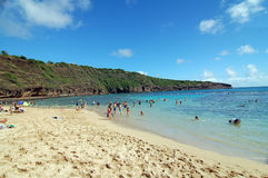 Hanauma Bay Honolulu Hawaii Royalty Free Stock Photos