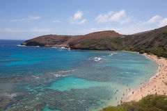 Hanauma Bay Nature Preserve Stock Images