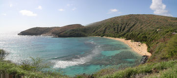 Hanauma Bay  Oahu Hawaii Stock Images