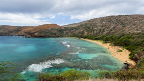 Hanauma Bay, Oahu, Hawaii Royalty Free Stock Photos