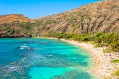 Hanauma bay, Oahu, Hawaii Stock Photo