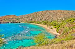 Hanauma bay, Oahu, Hawaii Stock Images