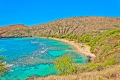 Hanauma bay, Oahu, Hawaii Stock Images