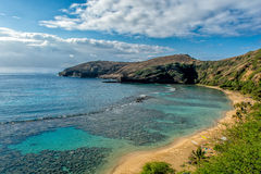 The Hanauma Bay Stock Image