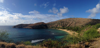 Hanauma Bay Overview Stock Photos