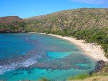 Hanauma Schacht, Hawaii Lizenzfreies Stockfoto