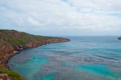 Hanauma Schacht, Oahu-Insel, Hawaii stockfotografie