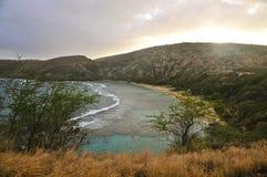 Hanauma zatoka, Oahu Obrazy Royalty Free