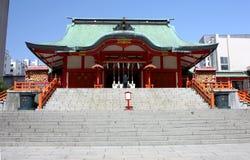 hanazono寺庙东京 库存图片