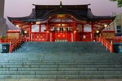 Hanazono świątynia inari - Sintoizm bóstwo Obraz Stock