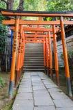 Hanazono Inari Shrine in Tokyo Stock Images