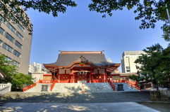 Hanazono Shrine, Shinjuku, Tokyo, Japan Stock Image