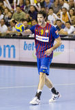 Hanball player Raul Entrerrios Royalty Free Stock Image