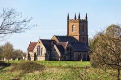 Hanbury församlingkyrka, Worcestershire, England Royaltyfri Bild