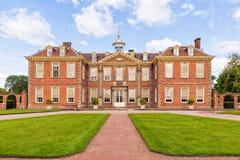 Hanbury Hall, Вустершир, Англия стоковые изображения