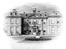 Hanbury Hall, England royaltyfria foton