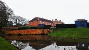 Hanbury Hall- National Trust royalty free stock photography