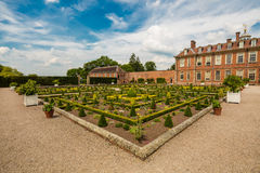 Hanbury Hall in Worcestershire. Hanbury Hall is a large stately home, built in the early 18th century, standing in parkland at Hanbury, Worcestershire. The main Royalty Free Stock Photos