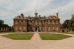 Hanbury Hall in Worcestershire. Hanbury Hall is a large stately home, built in the early 18th century, standing in parkland at Hanbury, Worcestershire. The main Stock Images