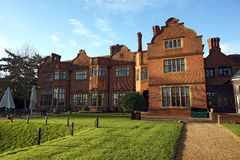 Hanbury Manor. Hotel in Ware, showing the beautiful gardens out back Royalty Free Stock Photo